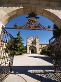 stock photo of tomas  - Santo Tomas monastery entrance in Avila Spain - JPG