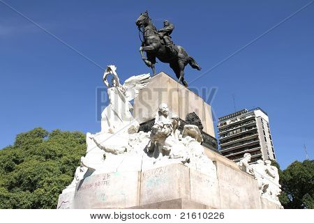 Monument Of Bartolome Mitre In Buenos Aires