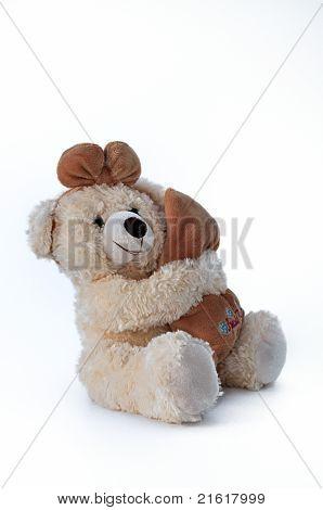 Brown Teddy Bear, Hope.