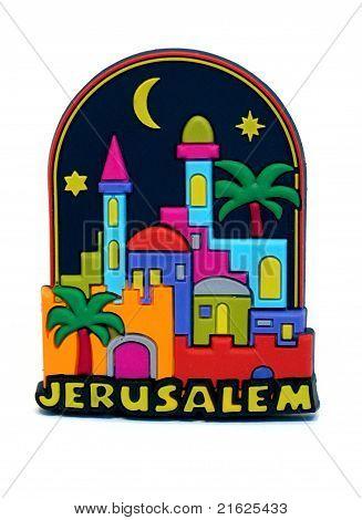 Jerusalem magnet souvenir