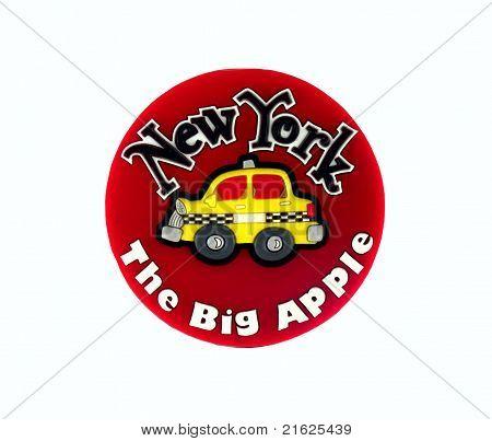 New York magnet souvenir