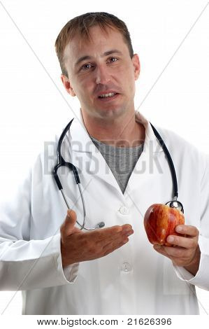 Medical Staff Explains The Benefits Of Fruit
