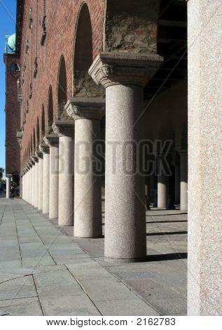 Pillars In A Castle 2