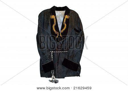 asian smoking jacket