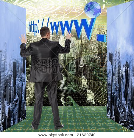 The social Internet a portal