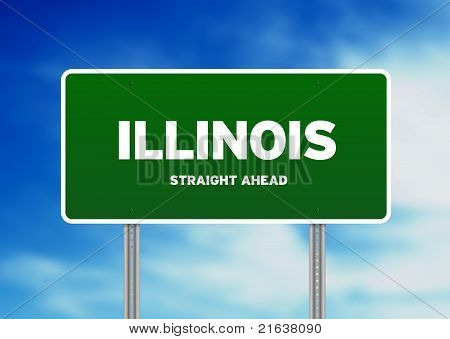 Illinois Highway Sign