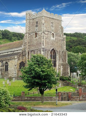 Ancient parish church hasting england