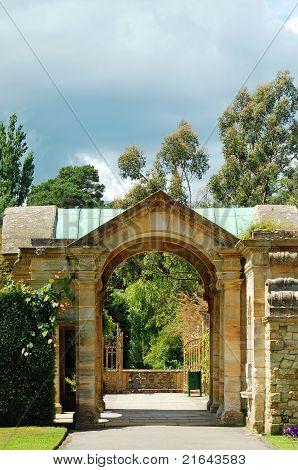 Hever castle jardín Hever Inglaterra