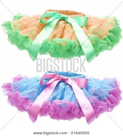 Pettiskirt Or Tutu Isolated On White