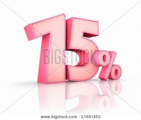 Pink Fifteen Percent