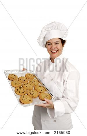 Cheerful Bakery Chef