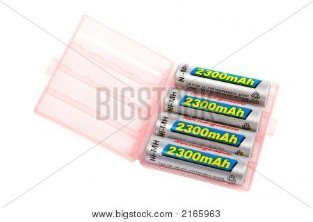 Rechargeable Batteries Set