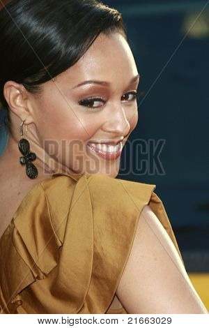 LOS ANGELES - JUN 30: Tia Mowry at the premiere of 'Hancock' in Los Angeles, California on June 30, 2008