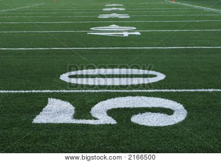 Football Numbers Fifty