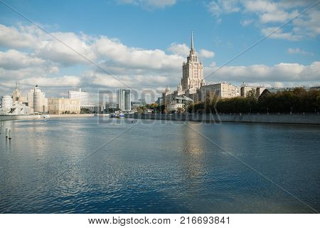 Summer View On The Moscow