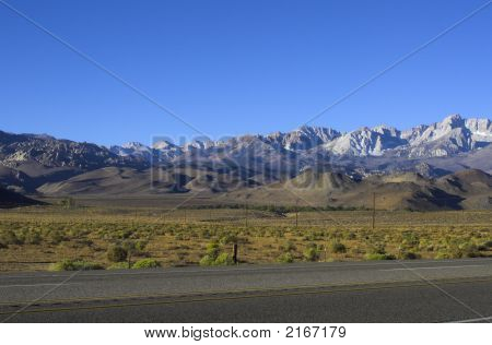 Sierra Nevada In Morning Light