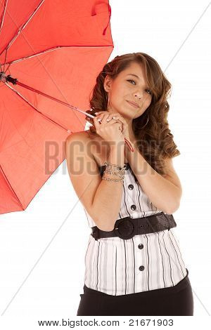 Playing With Umbrella