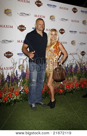 LOS ANGELES, CA - MAY 19: Chuck Liddell arrives at the 11th annual Maxim Hot 100 Party at Paramount Studios on May 19, 2010 in Los Angeles, California