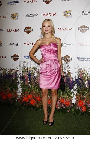 LOS ANGELES, CA - MAY 19: Anya Monzikova arrives at the 11th annual Maxim Hot 100 Party at Paramount Studios on May 19, 2010 in Los Angeles, California