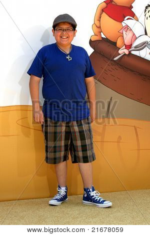 LOS ANGELES - JUL 10:  Rico Rodriguez arriving at the