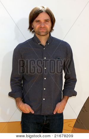 "LOS ANGELES - JUL 10:  Ben Gibbard arriving at the ""Winnie, the Pooh"" Premiere at Walt Disney Studios on July 10, 2011 in Burbank, CA"