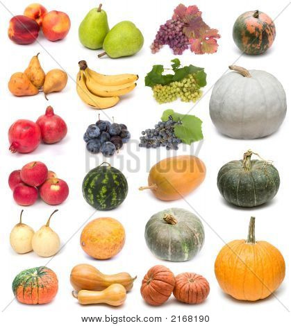 Fruits And Pumpkins