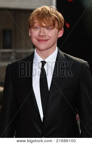 NEW YORK, NY - JULY 11: Actor Rupert Grint attends the New York premiere of 'Harry Potter And The Deathly Hallows: Part 2' at Avery Fisher Hall, Lincoln Center on July 11, 2011 in New York City.