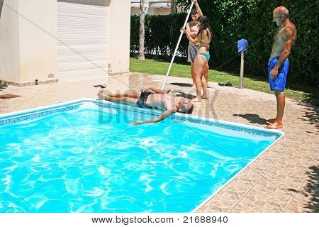 People At Swimming Pool
