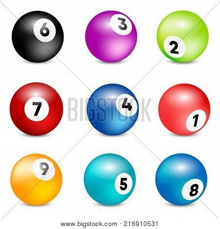 Bingo lottery balls