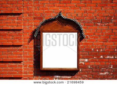 Billboard On The Brick Wall