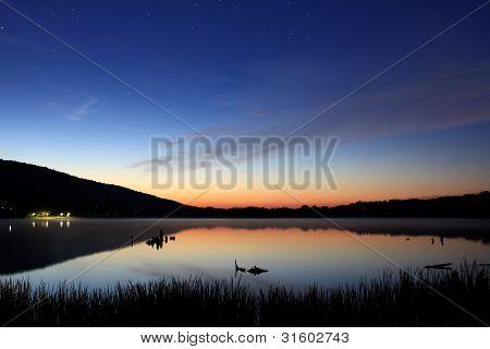 Starlight Over The Lake