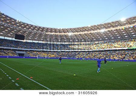 Nsc Olimpiyskiy Stadium in Kyiv