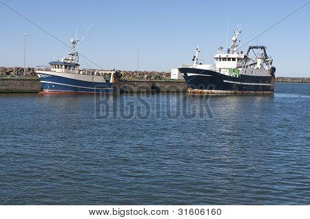 Modern Fishing Boats