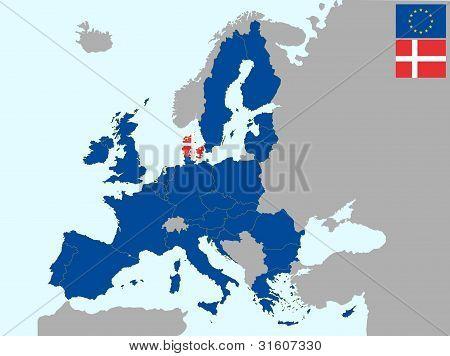 Denmark In Europe