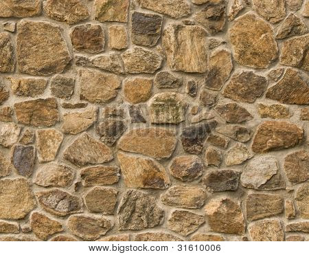 Masonry Rock Wall Seamlessly Tileable