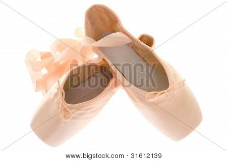 Isolated Objects: Pointe Shoes