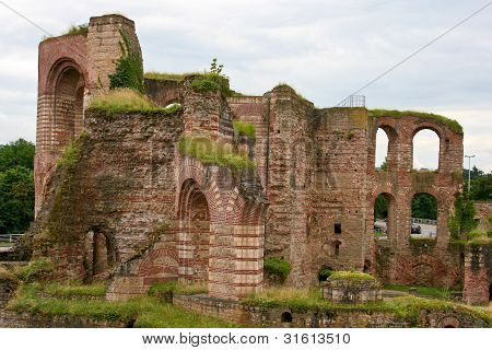 Roman Bathhouse, Trier, Germany