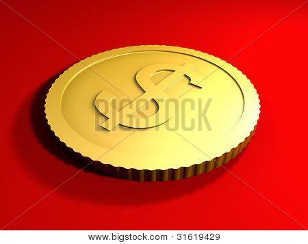 Generic Dollar Coin