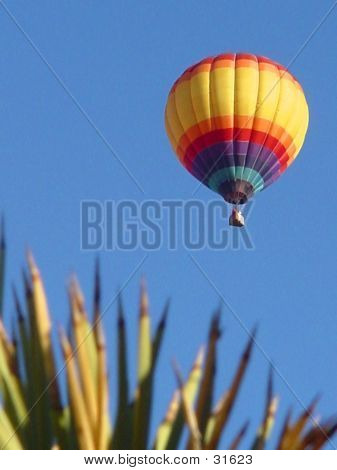 Wüste Ballon