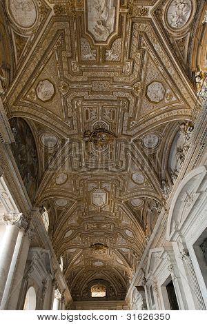 Ceiling, Entrance To St Peters