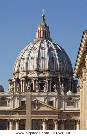 Dome Of St Peters, Rome