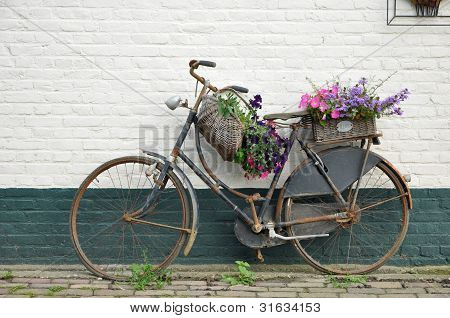 Flowered bike