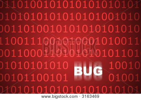System Bugs Abstract Background