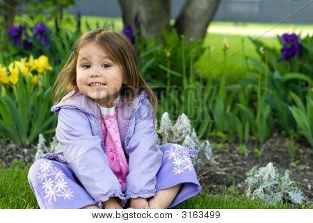 Flower Garden Girl