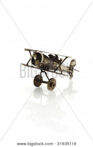 Metallic Airplane