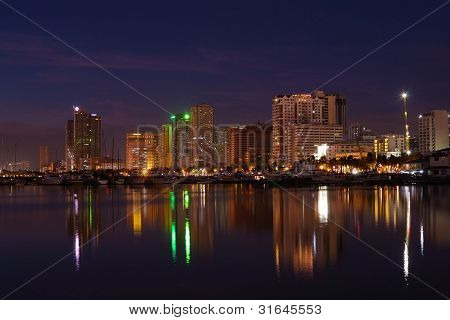 manila bay nightscape