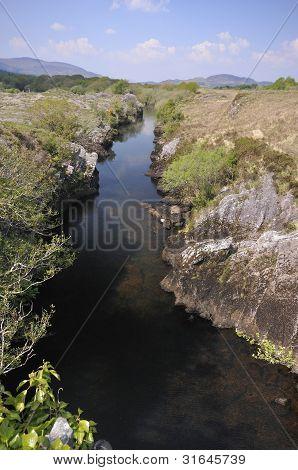 River Caragh at Curragh Beg