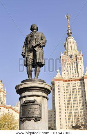 Lomonosov Monument