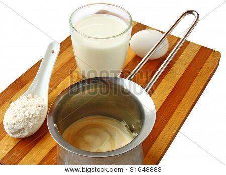 Preparation Of The Scalded Cream