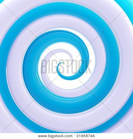 Colorful glossy twirl as an abstract background